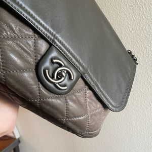 Chanel iridescent bag